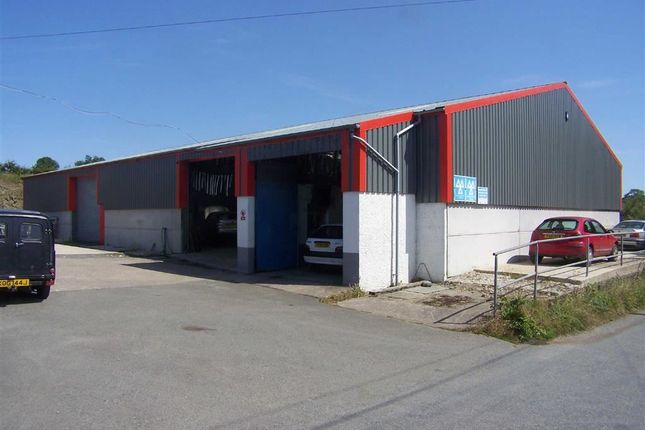Thumbnail Light industrial for sale in Eglwyswrw, Crymych, Pembrokeshire