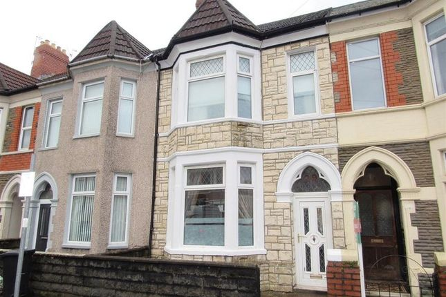 Thumbnail Terraced house for sale in Beda Road, Canton, Cardiff