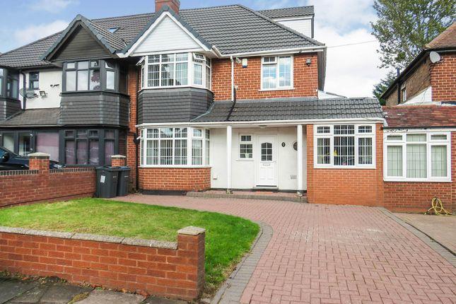 Thumbnail Semi-detached house for sale in Sandhurst Avenue, Hodge Hill, Birmingham