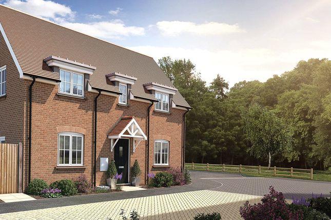 Thumbnail Semi-detached house for sale in Oak Tree Close, Farnham Road, Odiham, Hampshire