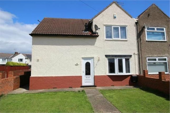 Thumbnail Semi-detached house for sale in Boughton Road, Rhodesia, Worksop, Nottinghamshire