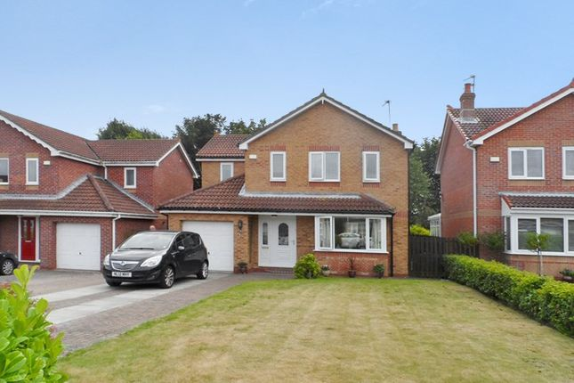 4 bed detached house for sale in Raby Close, Bedlington