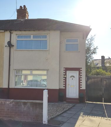 Thumbnail Semi-detached house to rent in Marina Avenue, Litherland, Liverpool