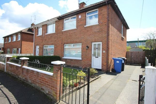 Thumbnail Semi-detached house to rent in Sunnyside Crescent, Belfast