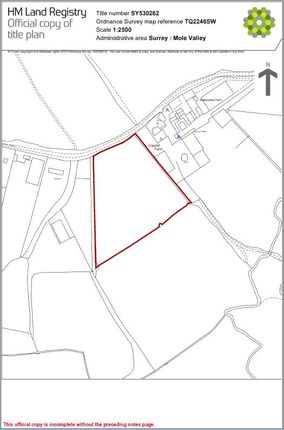 Thumbnail Farm for sale in Clayhill Road, Leigh, Reigate, Surrey