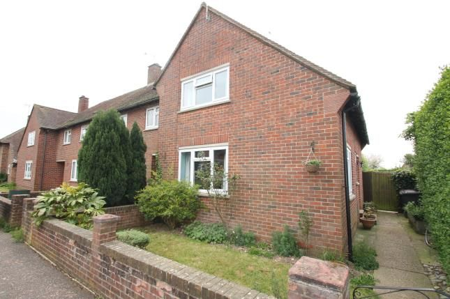 Thumbnail End terrace house for sale in Richmond Road, Westerton, Chichester, West Sussex