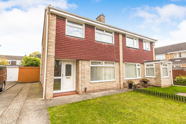 Thumbnail Semi-detached house to rent in Rushmere Heath, Eaglescliffe, Stockton-On-Tees