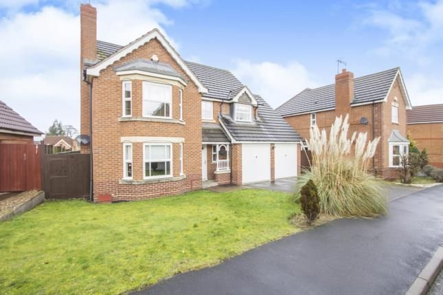 Thumbnail Detached house for sale in Wych Elm Road, Oadby, Leicester, Leicestershire