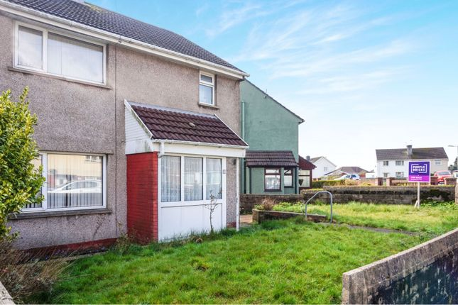 Thumbnail Semi-detached house for sale in Bronhaul, Pontyclun