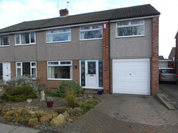 Thumbnail Semi-detached house for sale in Bushel Hill Drive, Darlington, Co Durham