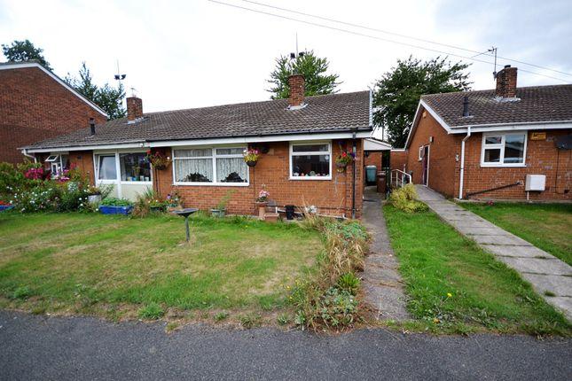 Thumbnail Semi-detached bungalow for sale in Poplar Drive, Altofts, Normanton