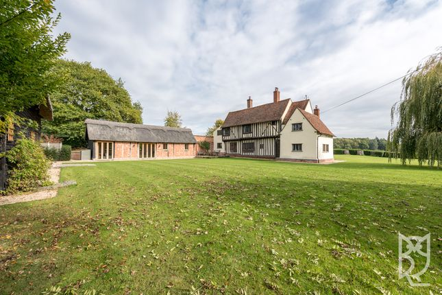 Thumbnail Detached house for sale in Wick Road, Stoke By Nayland, Essex