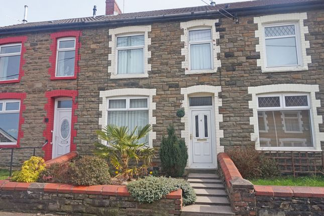 Thumbnail Terraced house for sale in Gellideg Street, Maesycwmmer