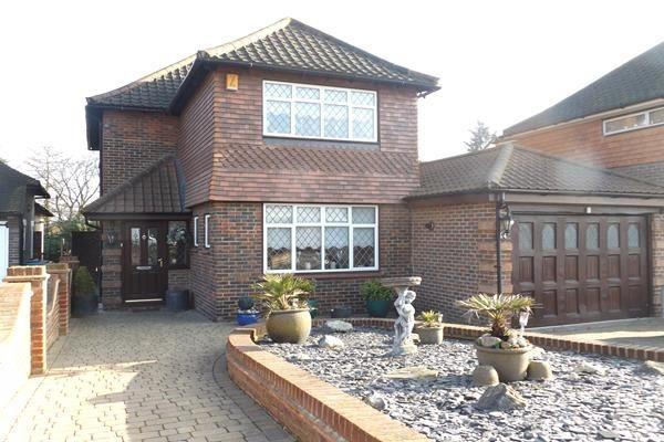 Thumbnail Detached house for sale in Fairoak Drive, Eltham