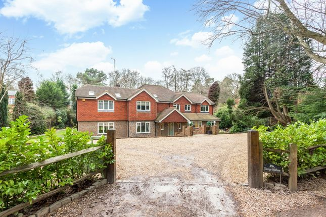 Thumbnail Detached house to rent in Lodge Hill Road, Lower Bourne, Farnham
