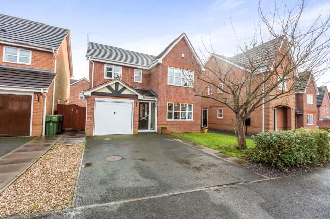 Thumbnail Detached house for sale in Appletrees Crescent, Woodland Granage, Bromsgrove, Worcestershire