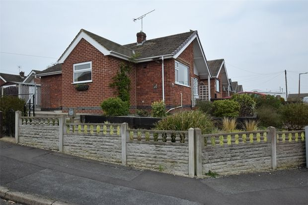 Thumbnail 2 bed detached bungalow to rent in Thomson Drive, Codnor, Ripley, Derbyshire