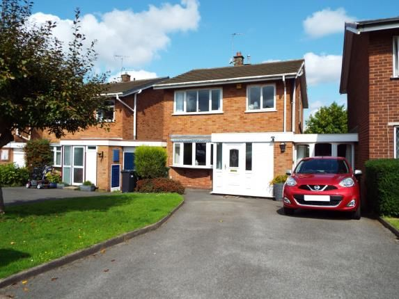 Thumbnail Detached house for sale in Leigh Close, Walsall, West Midlands