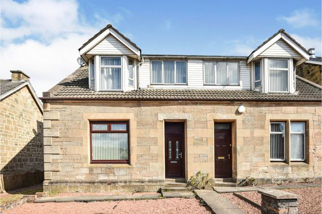 Thumbnail Semi-detached house for sale in Kirk Road, Wishaw