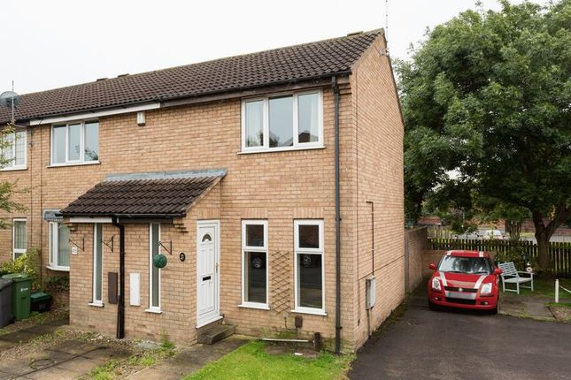 Thumbnail Terraced house for sale in Lydham Court, York