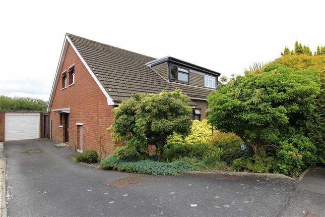 Thumbnail Semi-detached bungalow for sale in Erw Goch, Waunfawr, Aberystwyth