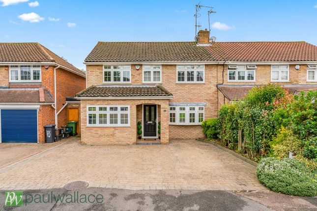 Thumbnail Semi-detached house for sale in High Wood Road, Hoddesdon