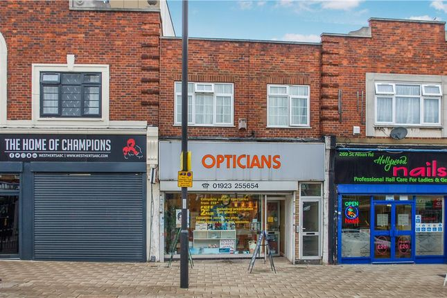 Thumbnail Retail premises for sale in St Albans Road, Watford, Hertfordshire
