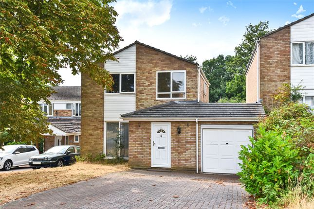 Thumbnail Detached house to rent in Warren Rise, Frimley, Camberley, Surrey