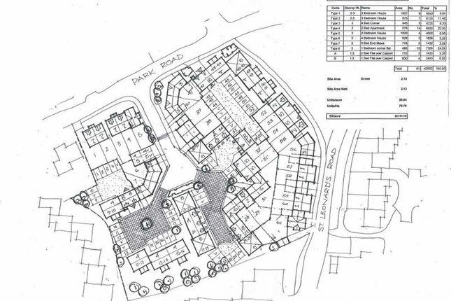 Thumbnail Land for sale in Land Adjacent To Rosecroft, St Leonards Road, Malinslee