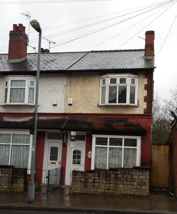 Thumbnail End terrace house to rent in Victoria Road, Handsworth