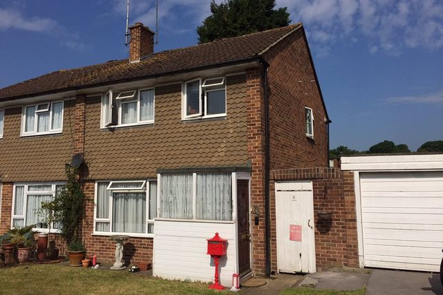 Thumbnail Shared accommodation to rent in Nobles Way, Egham, Surrey