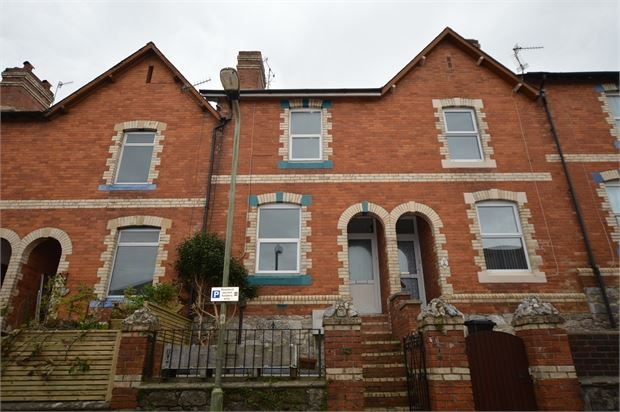 Thumbnail Terraced house to rent in Spencer Road, Newton Abbot, Devon.