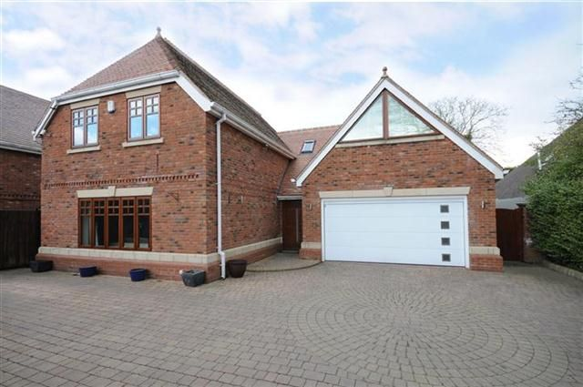 Thumbnail Detached house for sale in Foley Road East, Streetly, Sutton Coldfield