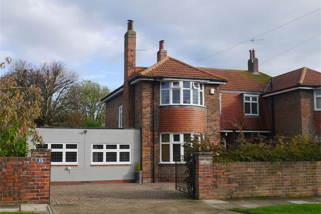 Thumbnail Detached house for sale in Moorgate, Acomb, York