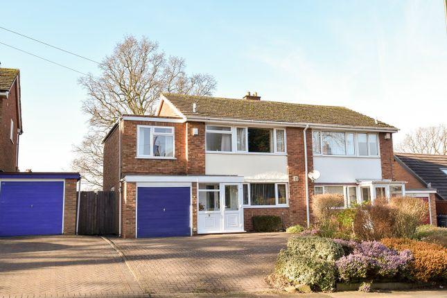 Thumbnail Semi-detached house for sale in Woodlands Park Road, Kings Norton, Birmingham