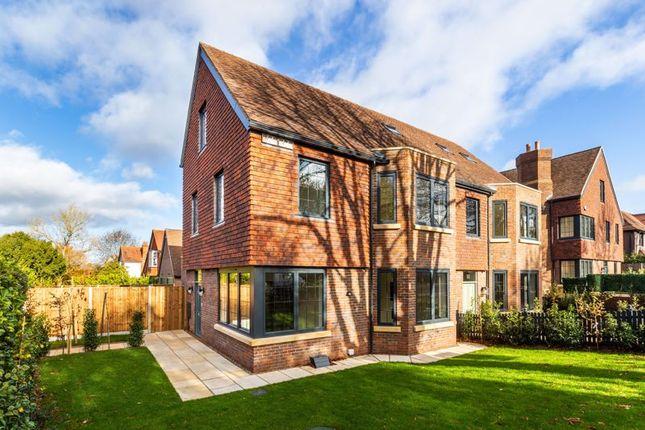Thumbnail Semi-detached house for sale in Burdon Lane, Cheam, Sutton
