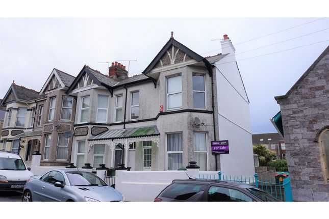 Thumbnail Town house for sale in Beauchamp Road, Plymouth