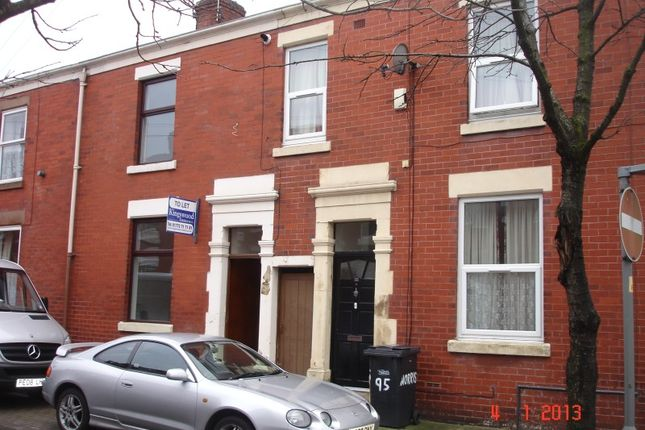 Thumbnail Terraced house to rent in Norris Street, Preston