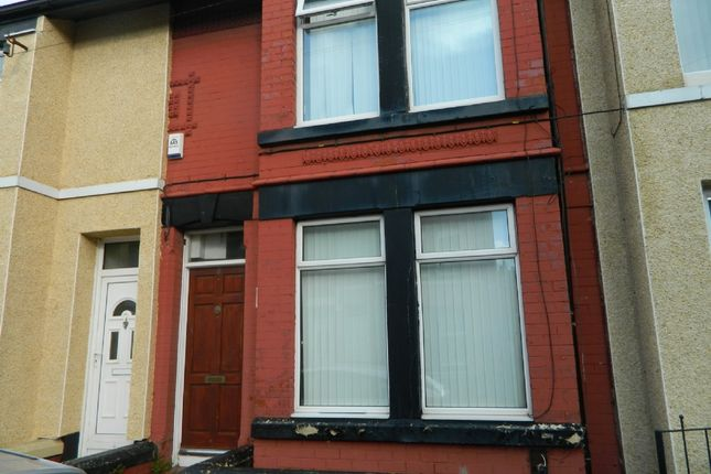 Thumbnail Terraced house to rent in Eliot Street, Bootle