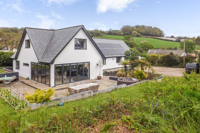 Thumbnail Detached house for sale in Tregrehan Mills, St. Austell