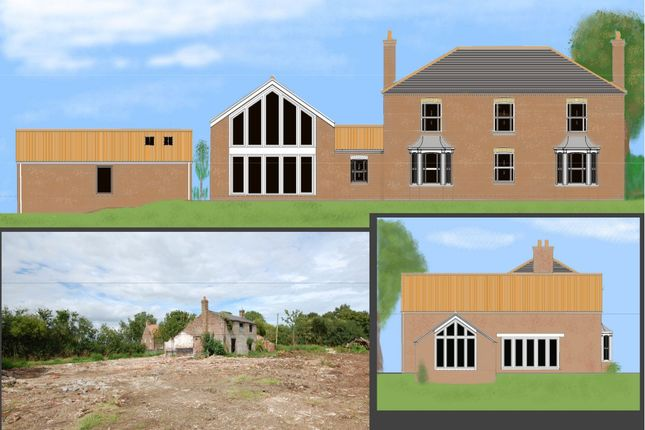 Thumbnail Land for sale in Building Plot Adjoining Slates Farm, Rotten Row, Theddlethorpe