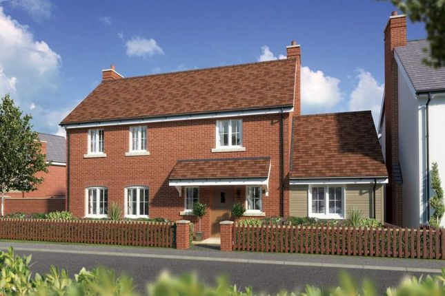 Thumbnail Detached house for sale in Plot 4, Ramley Road, Pennington, Lymington, Hampshire