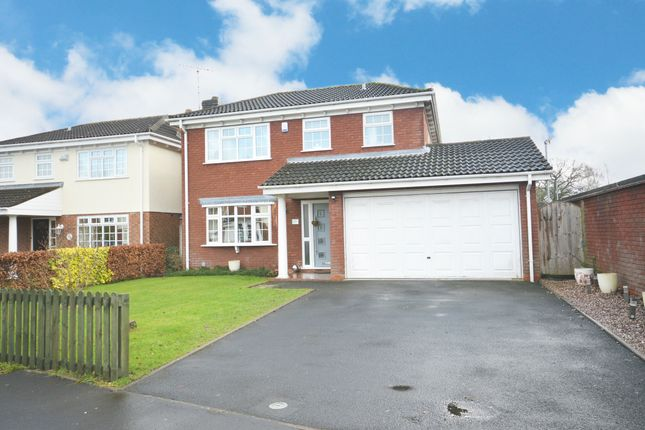 Thumbnail Detached house for sale in Stanbrook Road, Shirley, Solihull