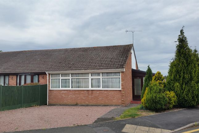 Thumbnail Semi-detached bungalow for sale in Wyre Hill, Bewdley
