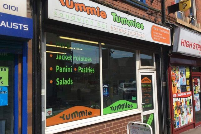 Thumbnail Restaurant/cafe for sale in High Street, Hucknall, Nottingham