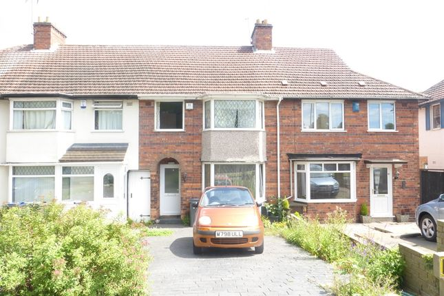 Thumbnail Terraced house for sale in The Ridgeway, Erdington, Birmingham