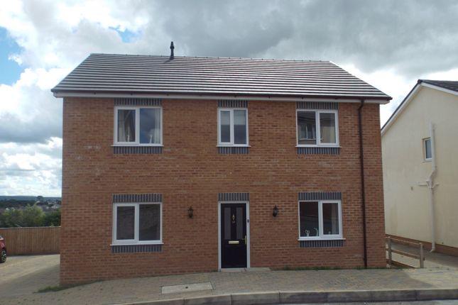 Thumbnail Detached house for sale in Ffordd Werdd, Gorslas, Llanelli