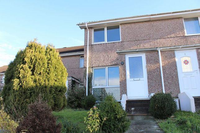 Thumbnail Terraced house to rent in Stanlake Close, Saltash