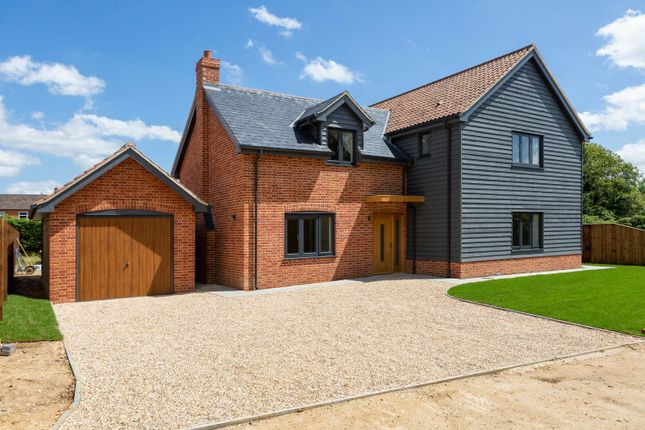 Thumbnail Detached house for sale in Great Green, Cockfield, Bury St. Edmunds