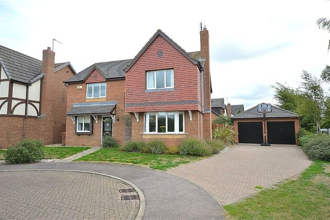 Thumbnail Detached house for sale in Quebec Close, Wootton, Northampton